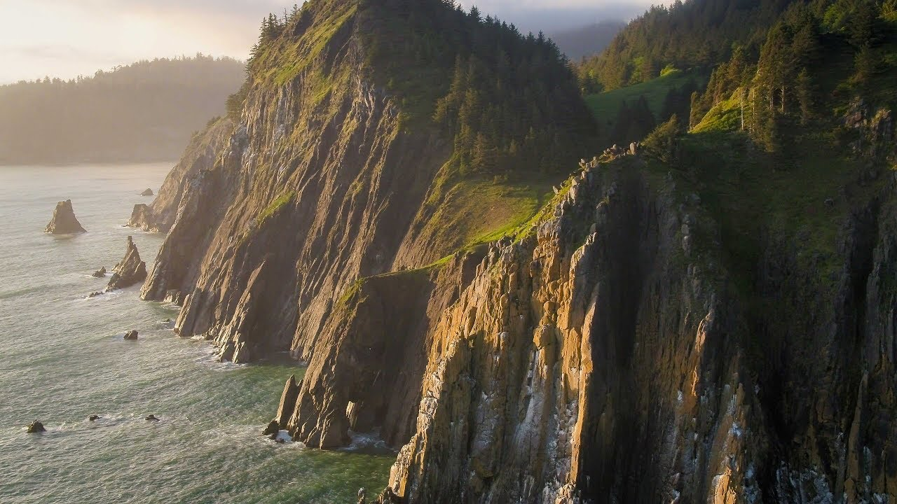 Drone And Aerial Video And Photography In The Pacific Northwest - Oregon Coast Aerial Video