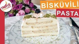 Kolay Bisküvili Pasta Tarifi - Kolay Pasta Tarifleri - Nefis Yemek Tarifleri