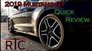 Quick Review Of A Rental Mustang Gt - Roadtripcentral