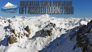 PowderQuest Patagonia Argentina Snow Adventure Lift Assisted Tour August 2018 // DJI Mavic Air Drone
