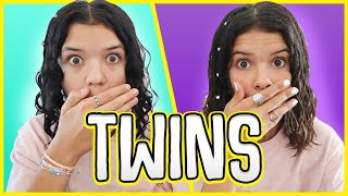 Transforming Ourselves INTO TWINS!  best twin wins
