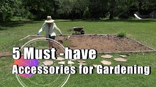 5 Must-have Accessories for Gardening, Especially in the Summer!