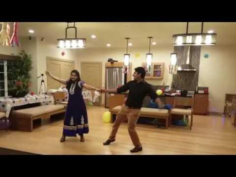 Couple dance on Rang de to mohe Gerua - Dilwale(SRK-Kajol) - Easy Steps - Best