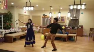 Video Couple dance on Rang de to mohe Gerua - Dilwale(SRK-Kajol) - Easy Steps - Best download MP3, 3GP, MP4, WEBM, AVI, FLV April 2018