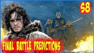 Game Of Thrones Season 8 Final Battle Predictions Who Wins The Game Of Thrones S8 Predictions