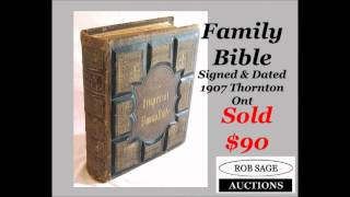 Rob Sage Auctions Highlights From Aug 25 2012