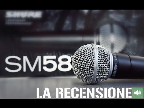 Recensione SHURE SM58