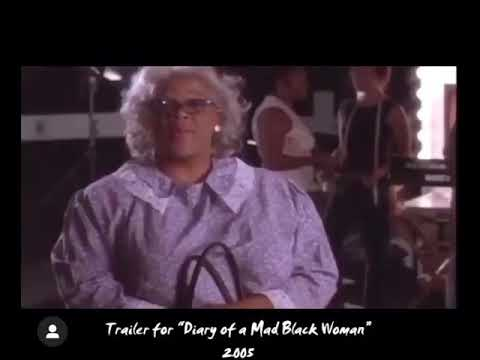 Download Tyler Perry's Diary Of A Mad Black Woman Trailer, 2005