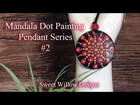 how-to-paint-dot-mandalas-#051---pendant-series-#2---mini-mandala-painting