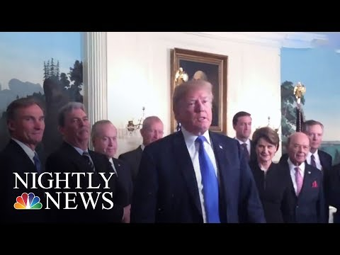 Donald Trump Legal Team Shakeup Clears Path For Possible Robert Mueller Interview   NBC Nightly News