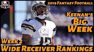 2019 Fantasy Football Rankings - Week 2 Top 30 Wide Receivers