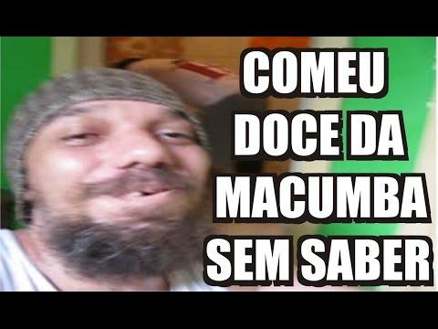PEGADINHA TROLLANDO COM DOCES DA MACUMBA
