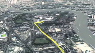 2015 Virgin Money London Marathon Fly Through