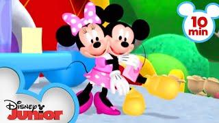 Mickey and Minnie Valentine's Days | Compilation | @Disney Junior