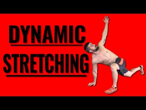 Full Body Dynamic Stretching Warm Up Routine