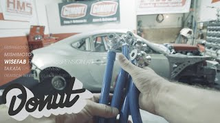 Unboxing Parts for Ferrari powered GT86 w/ Ryan Tuerck | The GT4586 | Donut Media thumbnail