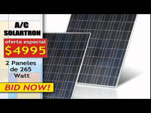 Aire Acondicionado Solar Youtube