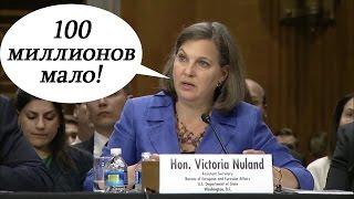 Виктория Нуланд жалуется на нехватку денег на борьбу с российской пропагандой. Русский перевод.