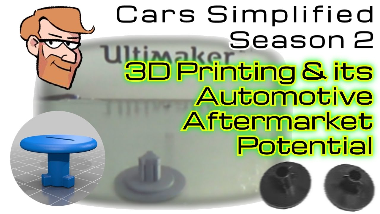 3D Printed Auto Parts: A Shift Towards The Automotive Aftermarket Future? •  Cars Simplified