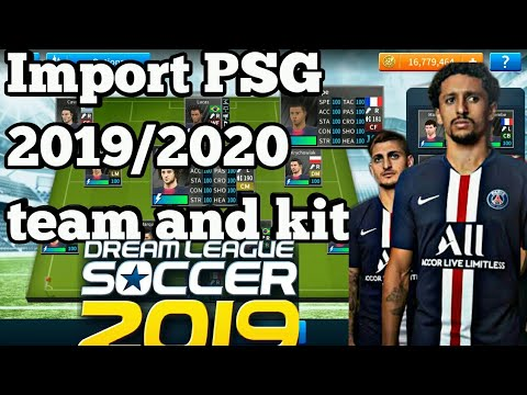Download How To Create Psg Team Kits Amp Logo In Dream