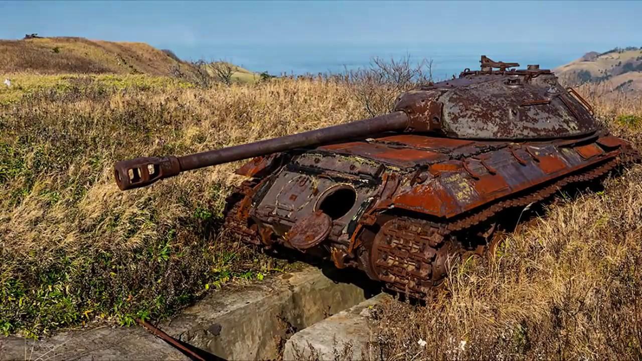 Находка совецких танков.