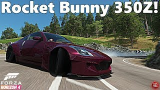 Forza Horizon 4: Rocket Bunny 350Z Drift Car, FULL BUILD!