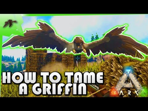 How To Tame A Griffin Solo(Easy Taming Pen)- Ark Survival Evolved Xbox One- Kamz25