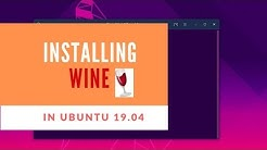 How to Install WINE on Ubuntu 19.04