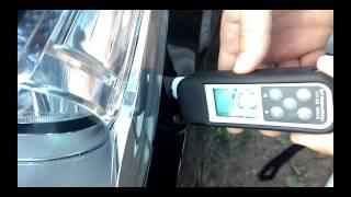 Passat CC проверка лакокрасочного покрытия толщиномером(, 2015-06-30T20:12:08.000Z)