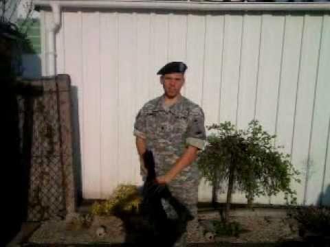 Aye SIR !!!! Ein Deutscher bei der US Army
