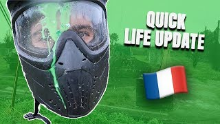 Paintball in South of France, update about my life and Social Info [vlog 3]