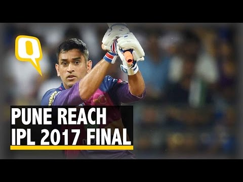The Quint: Dhoni's Contribution to Pune's Win