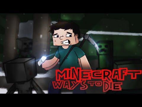 ♫ Minecraft Ways to Die  Minecraft Parody of Train  50 Ways to Say Goode