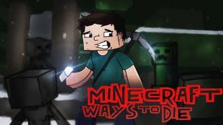 "♫ ""Minecraft Ways to Die"" - Minecraft Parody of Train - 50 Ways to Say Goodbye"