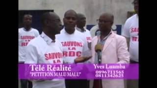 Pétition MALUMALU population etelemeli ye [ na 2016 suka na masolo] na RDC