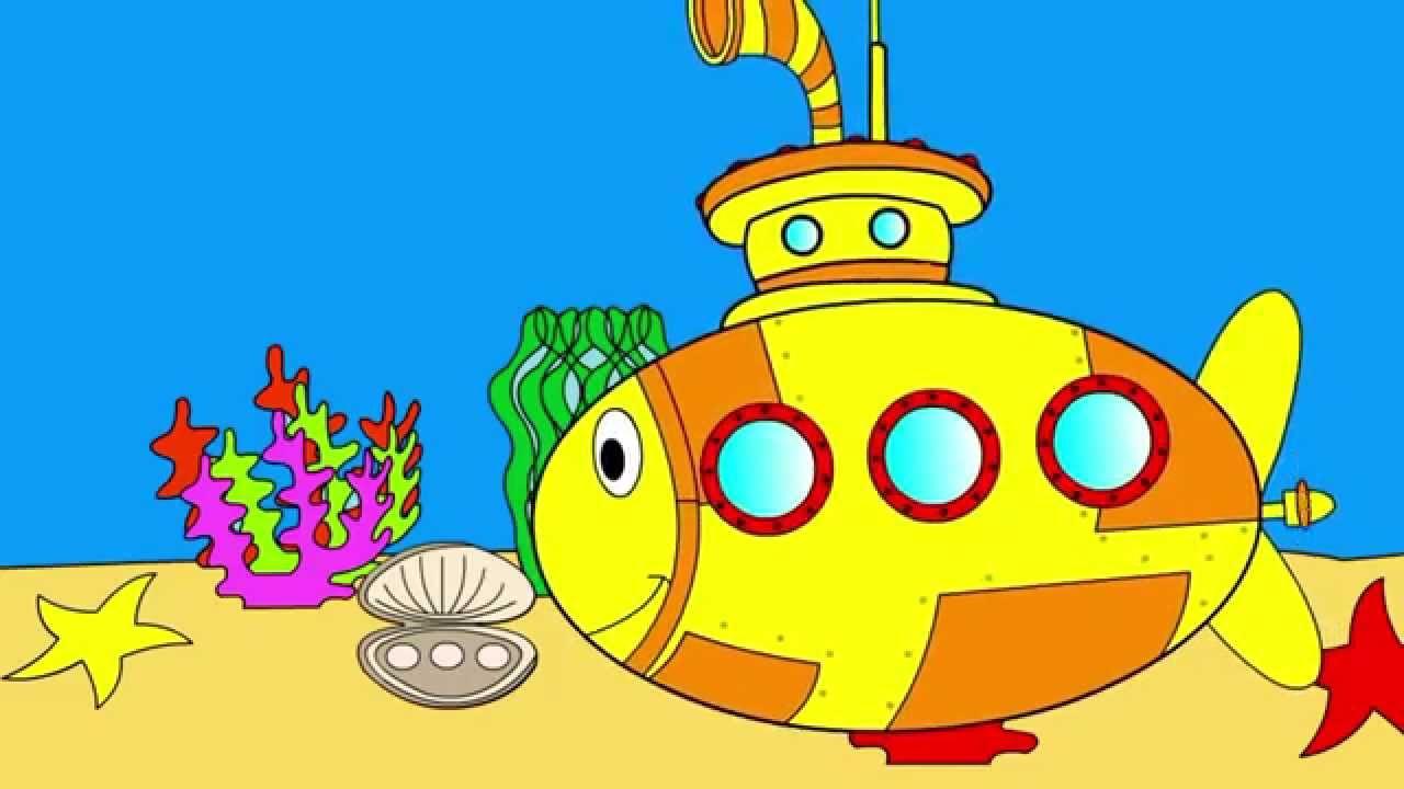 Картинки подводная лодка для детей дошкольного возраста
