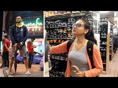 Mustafa Centre - Singapore Shopping Complex Vlog style Walk Through