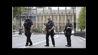 U.K. police arrest man on suspicion of terrorism after crash outside parliament in London