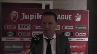BSR TV: Stijn Vreven na FC Emmen-NAC (0-0)