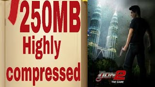 🔥 DON 2 The Game Highly Compressed ppsspp Android games 🔥