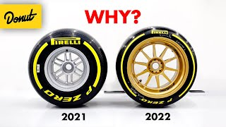 Why F1s 2022 Wheels are Slower but Better