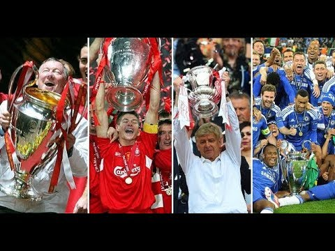 The Top 10 Most Successful English Football Clubs