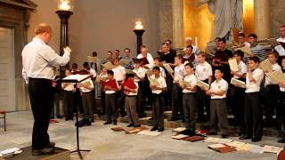 Saint Thomas Choir of Men and Boys Rehearsing in Copenhagen #2