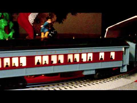 Lionel O Gauge / Scale Polar Express Christmas Train Set Layout in HD 6-31960