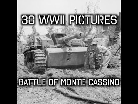 30 Rare WWII Pictures - Battle Of Monte Cassino Italy 1944