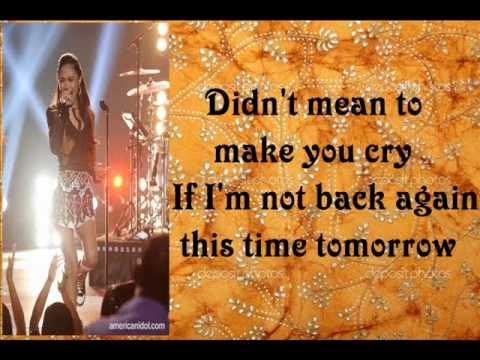 Jessica Sanchez - Bohemia Rhapsody with Lyrics