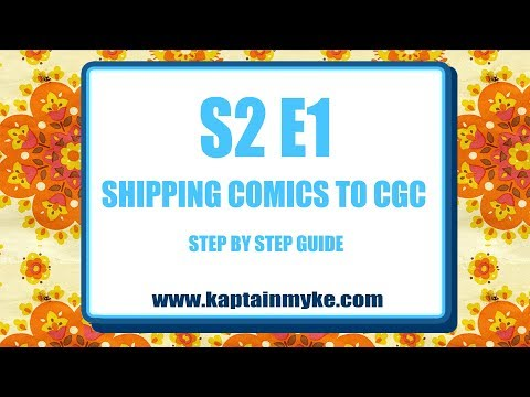 S2 E1 Shipping Comics to CGC by KaptainMyke