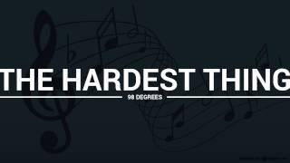 98 Degrees - The Hardest Thing (lyrics, karaoke, cover)