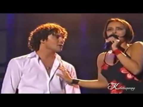 OT || David Bisbal Y Chenoa - La Bella Y La Bestia - Concierto Sevilla 2002