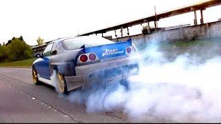 видео: Выпуск № 11 Разгон до 100 и 200 Nissan Skyline R33, горящая супра , Nissan Juke до 100 #SlideTV